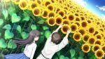1boy 1girl angel_beats! character_request flower game_cg matsushita na-ga