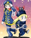 a-king ginga_tetsudou_999 nichijou professor_shinonome shinonome_nano