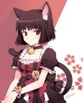 bell bell_collar bob_cut cat_ears collar nardack original short_hair solo tail