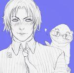 diweiss green_hair high_resolution kuroko_no_basket male midorima_shintarou short_hair takao_kazunari