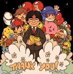 1girl 6+boys adventures_of_lolo animal_crossing artist_request balloon balloon_figher balloon_fight banana densetsu_no_stafy dog doubutsu_no_mori eartbound earth earthbound_(series) fruit gen_1_pokemon hal_laboratory_inc. hoshi_no_kirby iwata_satoru kirby kirby_(series) link lololo_(kirby) mario_(series) mother_(series) mother_2 mushroom ness nintendo nintendo_ead olimar pikachu pikmin pikmin_(creature) pikmin_(series) pokemon pokemon_(creature) real_life sadness stafy super_smash_bros. tagme the_legend_of_zelda the_legend_of_zelda:_the_wind_waker toon_link villager_(animal_crossing) villager_(doubutsu_no_mori)