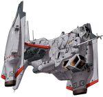airplane byeontae_jagga highres jet mecha missile_pod neon_genesis_evangelion pilot rocket_launcher science_fiction weapon