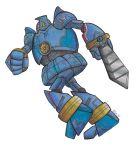 arm_blade crossover gipsy_danger gipsy_danger_(cosplay) golurk honedge no_humans pacific_rim pokemon pokemon_(creature) weapon