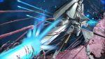alien battle energy energy_cannon gauna highres i.t.o_daynamics mecha monster morito_(sidonia_no_kishi) realistic sidonia_no_kishi space star_(sky) tentacles