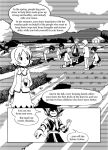 aki_minoriko aki_shizuha comic english farm mizuhashi_parsee multiple_girls short_hair sixten touhou