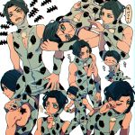 black_hair blue_eyes character_sheet jojo_no_kimyou_na_bouken rykiel spots yyy246