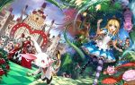 alice_(wonderland) alice_in_wonderland king_of_hearts kriss_sison queen_of_hearts tagme white_rabbit