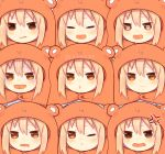 anger_vein crying crying_with_eyes_open doma_umaru drooling expressions heart heart-shaped_pupils himouto!_umaru-chan md5_mismatch pout rokino symbol-shaped_pupils tears twitter_username