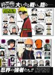 akatsuki black_eyes black_hair blonde_hair blue_hair bondage cloak dark_skin deidara evil_grin female glasses grin hair_over_one_eye haruno_sakura hat hatake_kakashi hidan hood hoshigaki_kisame houzuki_suigetsu jinchuuriki jiraya juugo kakuzu karin_(naruto) killer_bee konan long_hair male mask nara_shikamaru naruto naruto_shippuden open_mouth orange_hair orochimaru raikage ring sai sasori scar shiho shimura_danzou short_hair spiky_hair tobi tsunade uchiha_itachi uchiha_sasuke uzumaki_naruto white_eyes white_hair yamato yellow_eyes zetsu