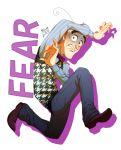 1boy ahoge disney fear_(inside_out) inside_out mum_(pixiv1182764) personification pixar short_hair silver_hair solo