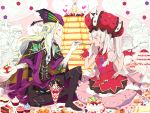 3girls 4boys :q blonde_hair blueberry boots cake charles_henri_sanson_(fate/grand_order) cheesecake cloak closed_eyes cookie cupcake cushion dessert doughnut fate/grand_order fate_(series) feeding food food_on_face fork fruit gloves hat ice_cream le_chevalier_d'eon_(fate/grand_order) male_protagonist_(fate/grand_order) marie_antoinette_(fate/grand_order) multiple_boys multiple_girls open_mouth pancake plate ruler_(fate/apocrypha) shielder_(fate/grand_order) silver_hair sitting strawberry sundae swiss_roll takara-chan thigh-highs thigh_boots tongue tongue_out waffle whipped_cream wolfgang_amadeus_mozart_(fate/grand_order)