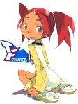 hair_ornament hairclip hashimoto_shin key looking_back red_hair redhead sari_sumdac transformers transformers_animated twintails