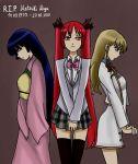 3girls cthugha_(nyaruko-san) haiyore!_nyaruko-san hayate_no_gotoku! konohana_hikari matsuki_miyu multiple_girls saginomiya_isumi seiyuu_connection strawberry_panic!