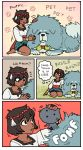 ajna_(indivisible) cat comic commentary dog emlan english highres indivisible lanshi_(indivisible) mike_z's_cat