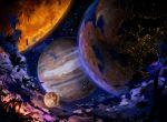 night night_sky no_humans original p0ckylo planet scenery sky surreal