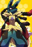 absurdres highres lucario mega_lucario no_humans pokemon pokemon_(creature) pokemon_(game) pokemon_xy
