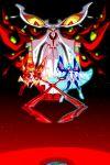 3girls gyosone highres junketsu kamui_(kill_la_kill) kill_la_kill kiryuuin_ragyou kiryuuin_satsuki matoi_ryuuko multiple_girls scissor_blade senketsu senketsu-kisaragi