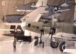 1boy airplane b-17 b-25 bomber grumman_tbf_avenger museum propeller rinota sr-71 turret