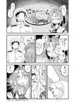 1boy 1girl admiral_(kantai_collection) comic dated highres izumi_masashi kantai_collection monochrome translated twitter_username zuihou_(kantai_collection)