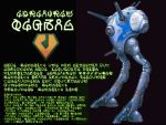 choujikuu_yousai_macross esbeliben macross mecha regult simple_background the_super_dimension_fortress_macross translated walker zentradi