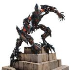 concept_art mecha red_eyes spikes the_fallen transformers