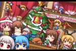 >_< +++ /\/\/\ 6+girls :3 :d ^_^ ahoge akagi_(kantai_collection) american_flag_dress american_flag_legwear anchor_hair_ornament ascot backpack bag bell blonde_hair blue_eyes blue_hair bone bottle bow box bread broom bucket candy candy_cane chibi christmas christmas_tree cirno closed_eyes clownpiece covered_mouth crossover crying crying_with_eyes_open cup detached_sleeves drinking eating enemy_aircraft_(kantai_collection) flying food gap gift gift_box gloom_(expression) hair_bobbles hair_bow hair_flaps hair_ornament hair_ribbon hair_tubes hairband hairclip hakama hakurei_reimu hat highres holding horns japanese_clothes jester_cap kaiyi kantai_collection kawashiro_nitori kirisame_marisa komeiji_satori kongou_(kantai_collection) konpaku_youmu konpaku_youmu_(ghost) long_hair looking_at_viewer machinery merry_christmas mismatched_legwear mittens mob_cap mouth_hold multiple_girls nontraditional_miko northern_ocean_hime o_o open_mouth painting_(object) pale_skin pink_hair red_eyes remilia_scarlet remodel_(kantai_collection) rensouhou-chan ribbon riding saigyouji_yuyuko santa_hat scarf shimakaze_(kantai_collection) shinkaisei-kan short_hair silver_hair smile tasuki teacup tears third_eye touhou translation_request triangular_headpiece turkey_(food) turret two_side_up wavy_mouth white_hair witch_hat xd yakumo_yukari yellow_eyes yunomi yuudachi_(kantai_collection)