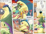 cacturne comic highres no_humans pokemoa pokemon pokemon_(creature) pokemon_(game) pokemon_gsc pokemon_rse typhlosion