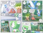 comic exeggutor gardevoir highres latios no_humans parasect pokemoa pokemon pokemon_(creature)