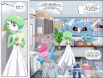 comic gardevoir golduck highres machoke metang no_humans pokemoa pokemon pokemon_(creature) porygon wynaut