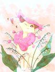 delcatty flower no_humans one_eye_closed pokemon pokemon_(creature) r18ankou