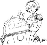aegis crossover kuma_(persona_4) monochrome persona persona_3 persona_4 shigenori_soejima