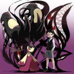 1boy agemono crossover fullmetal_alchemist mawile mega_mawile pokemon pokemon_(creature) selim_bradley