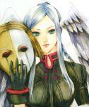 1girl head_wings mask tagme xenoblade