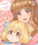 amy30535 commentary_request futaba_anzu idolmaster idolmaster_cinderella_girls moroboshi_kirari translation_request