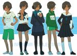 black_hair crossdressing dark_skin hair_over_one_eye ikezawa_kazuma male_focus otemoto summer_wars tan