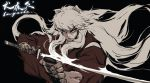 1boy absurdres animal_ears grandialee highres inuyasha inuyasha_(character) male_focus solo wolf_ears
