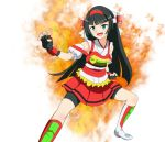 black_hair daimo-kun daimos green_eyes hime_cut long_hair robot_girls_z