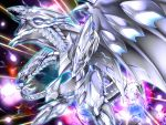blue-eyes_white_dragon blue_eyes claws dragon duel_monster multiple_heads neo_blue-eyes_ultimate_dragon no_humans omega_na_hito open_mouth sharp_teeth tagme teeth yuu-gi-ou yuu-gi-ou_duel_monsters