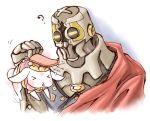 ? fuju k_(kyokugen_dasshutsu) ky kyokugen_dasshutsu kyokugen_dasshutsu_adv:_zennin_shibou_desu mechanical_arm rabbit red_cape zero_iii