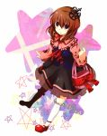 brown_hair child crown mary_janes misumi_(msm952) misumi_(pixiv365611) purse solo umineko_no_naku_koro_ni ushiromiya_maria
