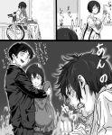 angry boku_dake_ga_inai_machi cheating comic famekoro fujinuma_satoru hinazuki_kayo monochrome netorare spoilers sugita_hiromi sugita_mirai translation_request wheelchair