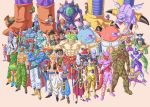 2girls 6+boys abo_(dragon_ball) abs amond android android_13 android_14 android_15 angila arm_behind_back arm_on_shoulder armor baggy_pants bald bandana bardock bare_chest beard beerus bidoo bio-broly black_hair blue_skin bojack boots bow bowtie braid brain broly brown_gloves buujin cacao_(dragon_ball) character_request chilled clenched_hand clenched_hands cooler_(dragon_ball) crossed_arms daiz_(dragon_ball) doore dorodabo dr._wheelo dragon dragon_ball dragon_ball_z dragon_wings earrings ebifurya_(dragon_ball) everyone evil_grin evil_smile facial_hair frieza frown garlic_jr. giant ginger_(dragon_ball) gloves gogeta gokua golden_frieza green_eyes grey_skin grin gure_(dragon_ball) halo head_out_of_frame headband helmet hiding hirudegarn horns icarus_(dragon_ball) janemba jewelry kado_(dragon_ball) kishime lakasei long_hair lord_slug medamatcha meta-cooler misokatsun mohawk monkey_tail monster multiple_boys multiple_girls muscle mustache necklace neiz nicky_(dragon_ball) no_pupils one_eye_closed open_mouth orange_boots outstretched_arms pants paragus pendant pointy_ears pose purple_skin rasin red_skin redhead robot salza sansho_(dragon_ball) scar scar_across_eye scouter shirtless shisami silver_hair single_braid sitting smile sorbet_(dragon_ball) spikes spiky_hair spread_arms staff super_saiyan sword tagoma tapion tarble toriyama_akira_(style) tullece turban tuxedo vest weapon whis white_hair white_skin wings wristband yellow_eyes yellow_sclera yosui zangya zeeun