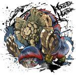 character_request elephant fuse_ryuuta gammoth inkblot monster monster_hunter monster_hunter_x no_humans tusks