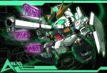 bazooka char's_counterattack character_name charging chibi electricity fin_funnels funnels green_eyes gundam mecha no_humans nu_gundam sd_gundam shield weapon
