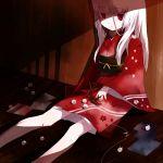 japanese_clothes kimono long_hair marble mizushirazu origami original paper_crane red_eyes white_hair
