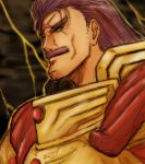 armor fatal_fury king_of_fighters moustache purple_hair snk wolfgang_krauser