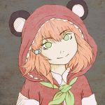 1girl cute czechonski ears hoodie imaginatoria kawaii marcin mimi panda smile