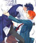 gomi_chiri ichinose_tokiya ittoki_otoya red_eyes red_hair uta_no_prince-sama