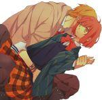 gomi_chiri kurusu_shou nanami_haruka red_hair uta_no_prince-sama yellow_eyes