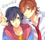brown_eyes brown_hair gomi_chiri ichinose_tokiya kotobuki_reiji uta_no_prince-sama